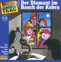 TKKG Folge 115 Der Diamant im Bauch der Kobra