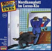 TKKG Folge 123 Mordkomplott im Luxus-Klo