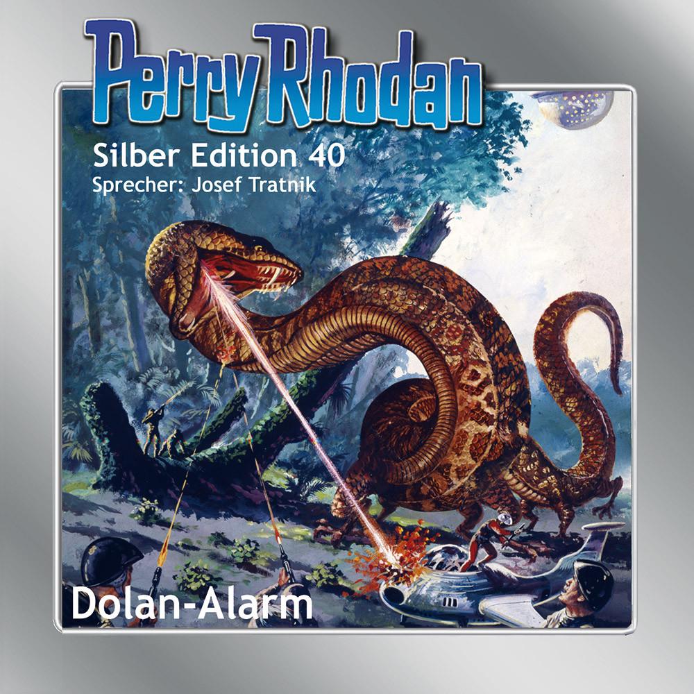 Perry Rhodan Silber Edition Nr. 40 Dolan-Alarm