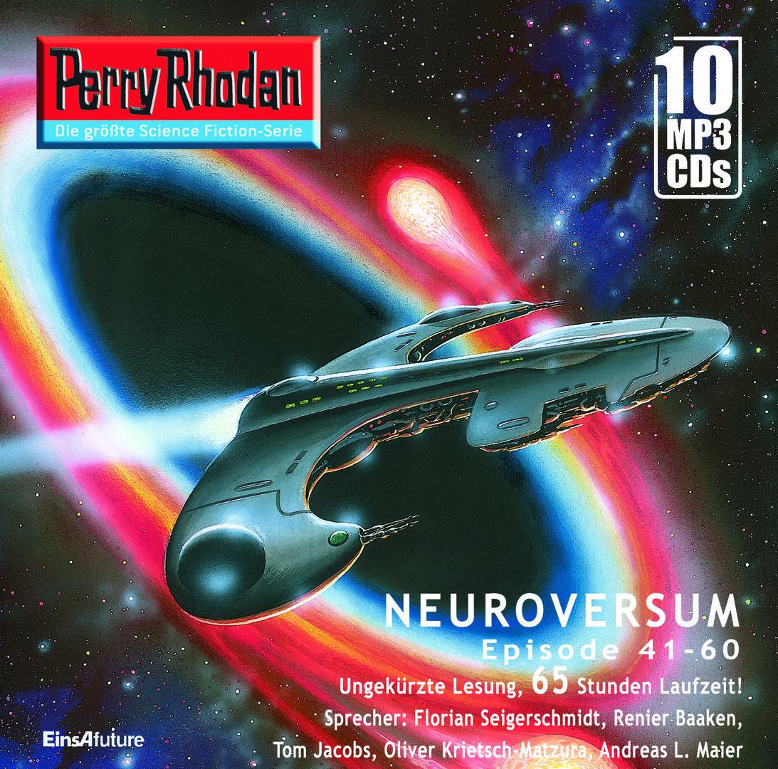 Perry Rhodan Sammelbox 3 Neuroversum-Zyklus 41-60