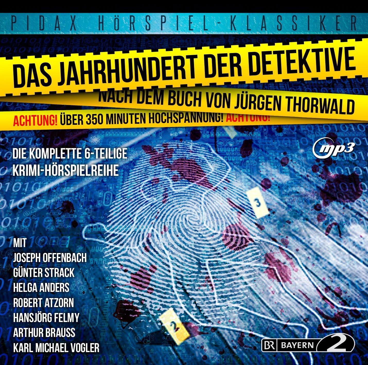 Pidax Hörspiel Klassiker - Das Jahrhundert der Detektive