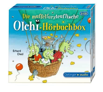 Die Olchis - Die muffelfurzteuflische Olchi-Hörbuchbox (3 CD)