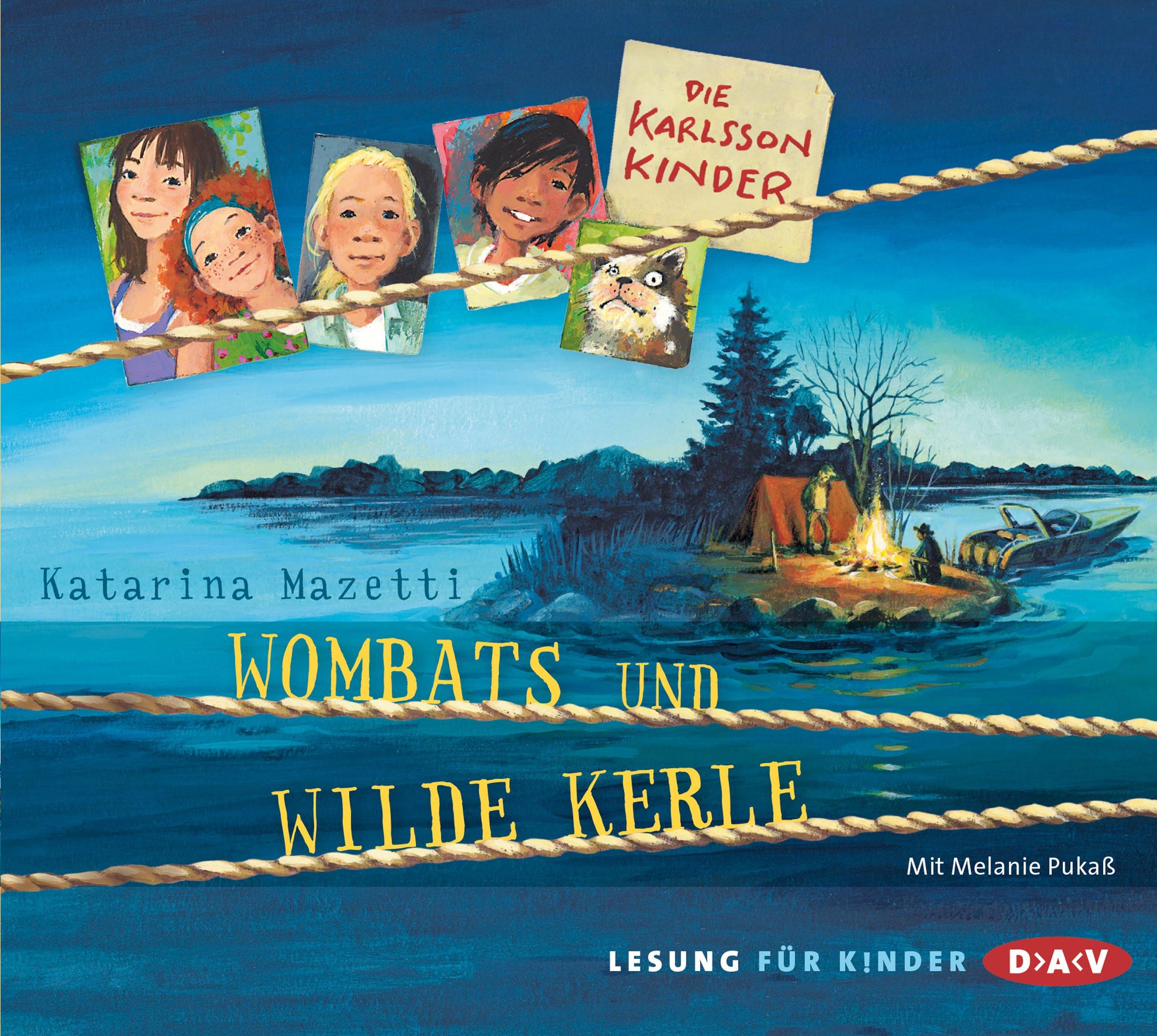 Katarina Mazetti - Die Karlsson Kinder - Teil 2: Wombats und wilde Kerle
