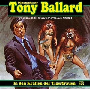 Tony Ballard 20 - In den Krallen der Tigerfrauen