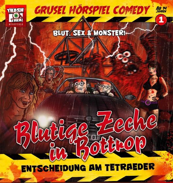 Grusel Hörspiel Comedy 01 Blutige Zeche in Bottrop