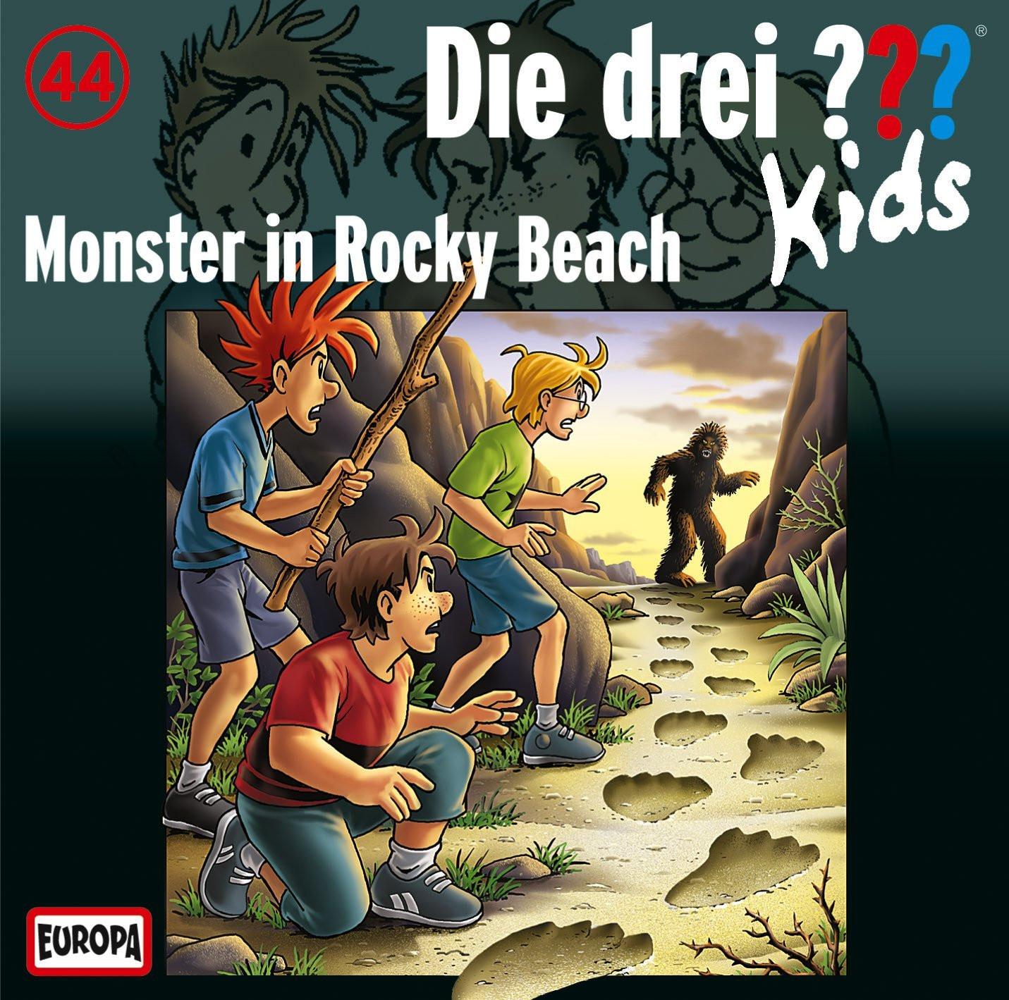 Die drei ??? Kids Folge 44 Monster in Rocky Beach