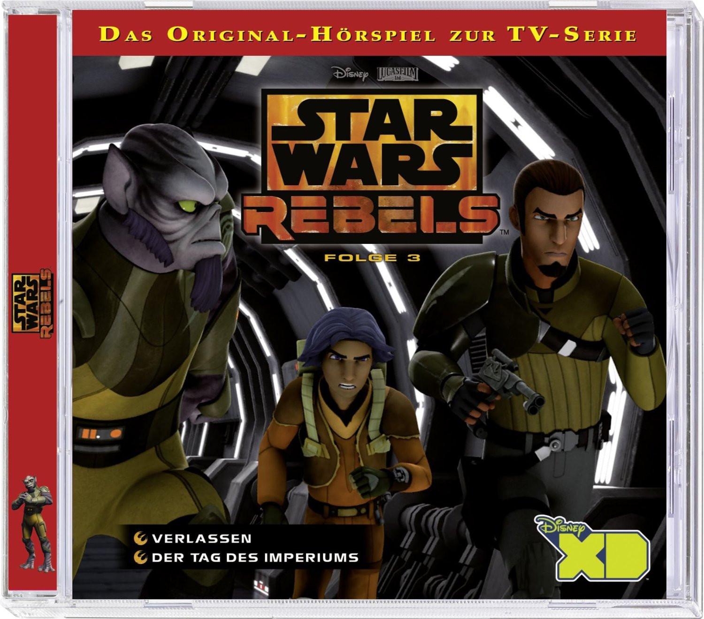 Star Wars Rebels - Folge 3: Verlassen / Der Tag des Imperiums