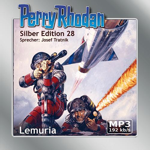 Perry Rhodan Silber Edition 28 Lemuria (2 mp3-CDs)