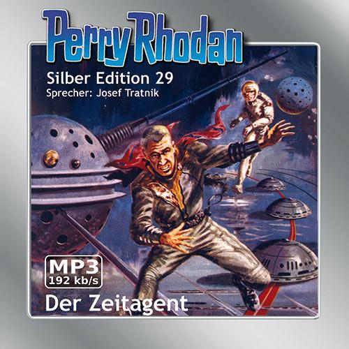 Perry Rhodan Silber Edition 29 Der Zeitagent (2 MP3-CDs)