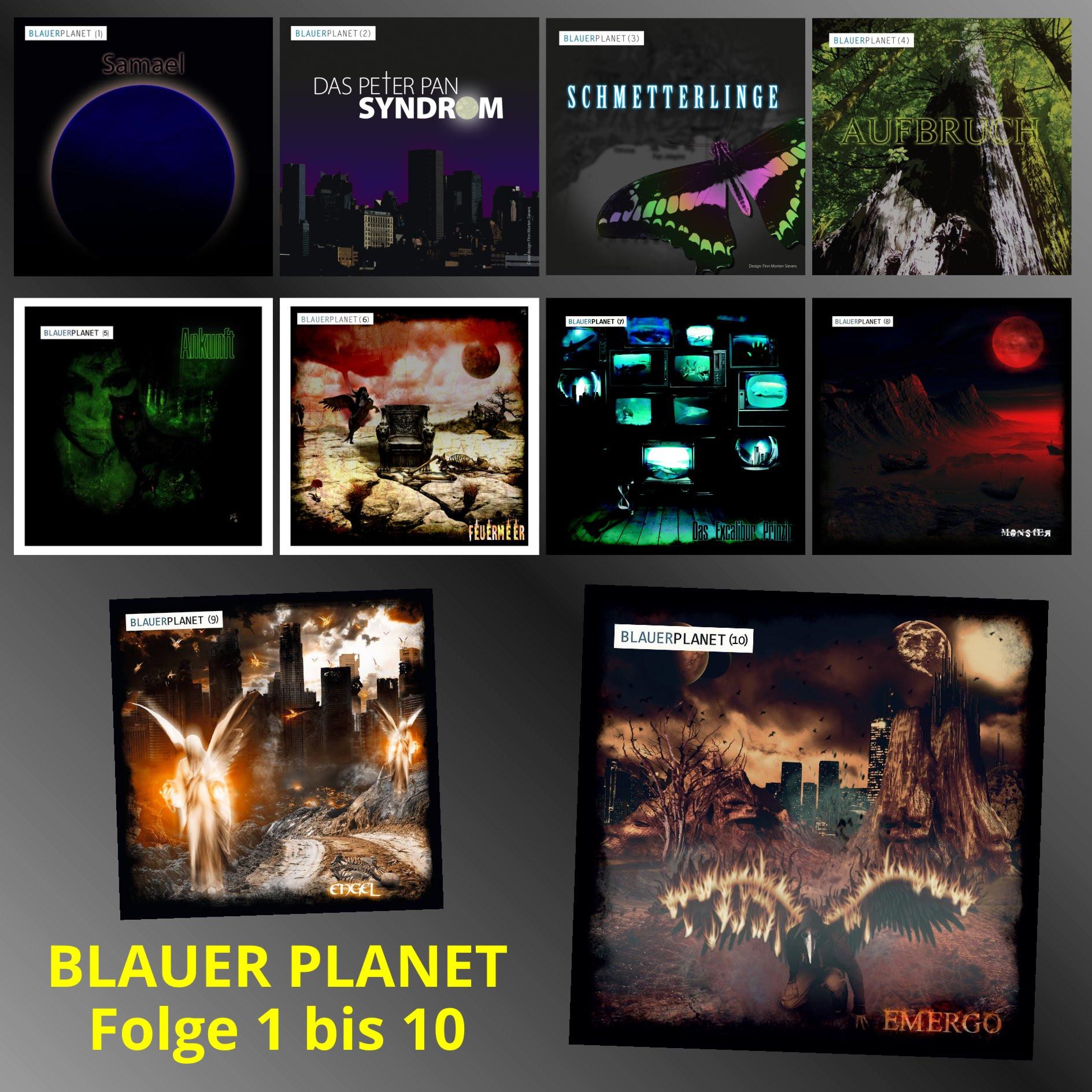 Blauer Planet - Komplettpaket - Folge 1 bis 10 (inkl. Samael Redux)