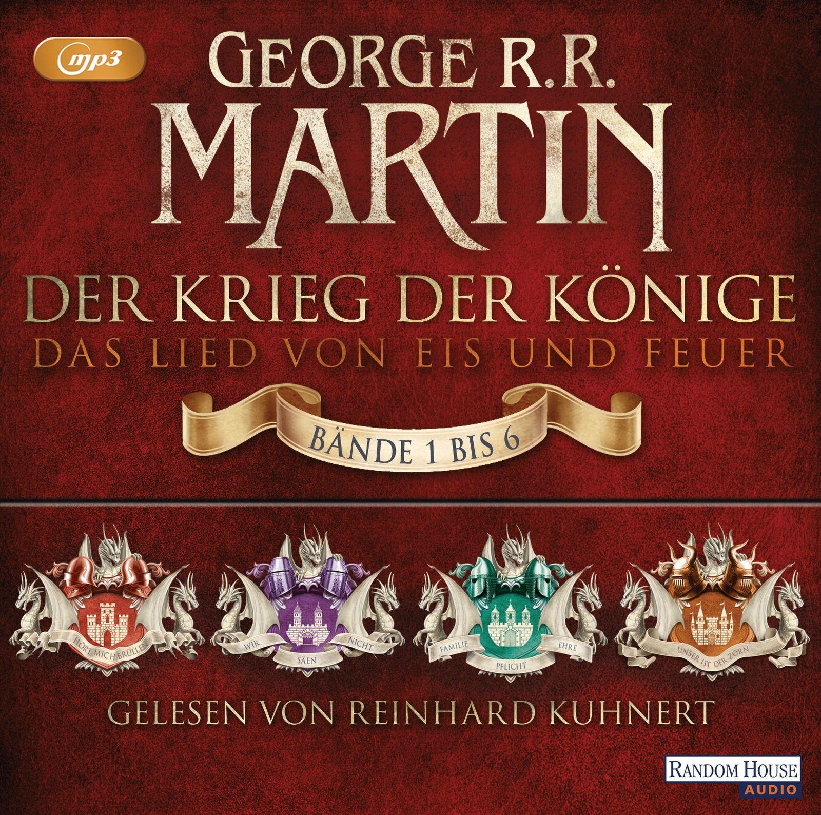 George R.R. Martin - Der Krieg der Könige - Die Box