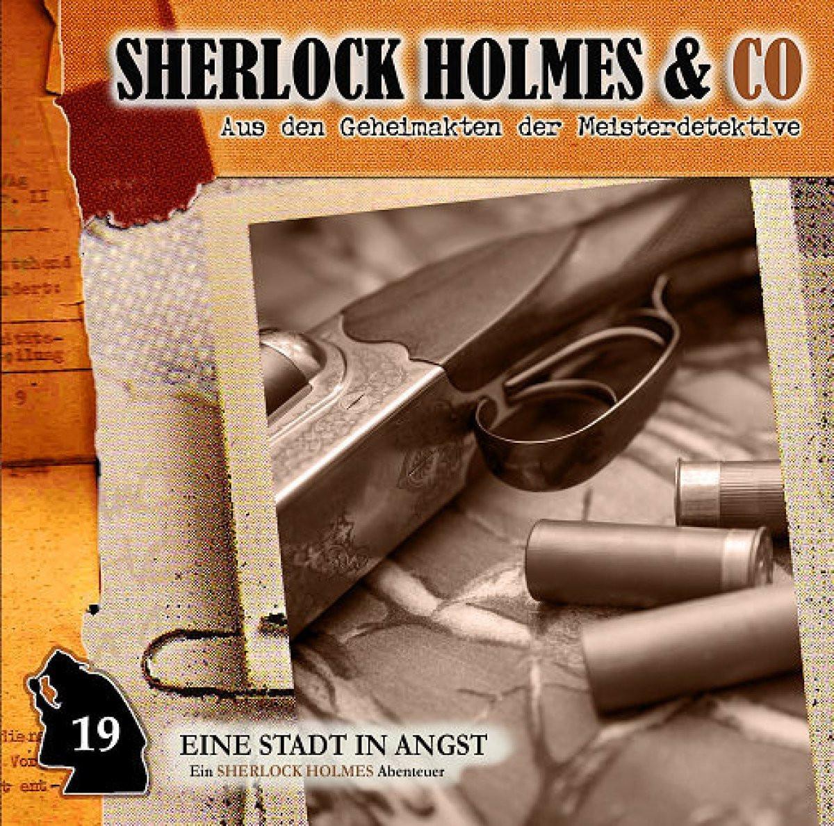 Sherlock Holmes & Co 19 - Eine Stadt in Angst