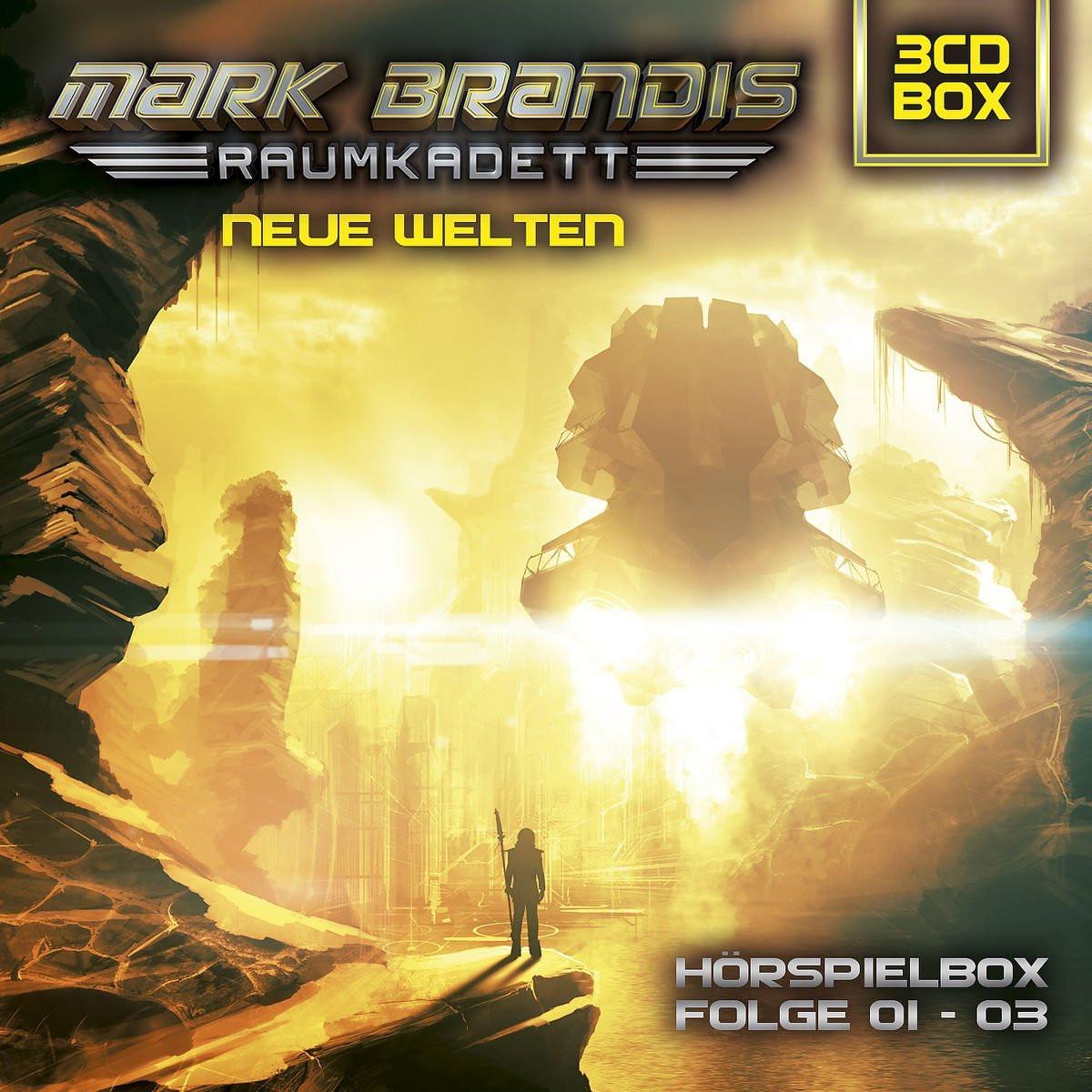 Mark Brandis - Raumkadett - Neue Welten - Folge 1 bis 3 (3er CD-Box)