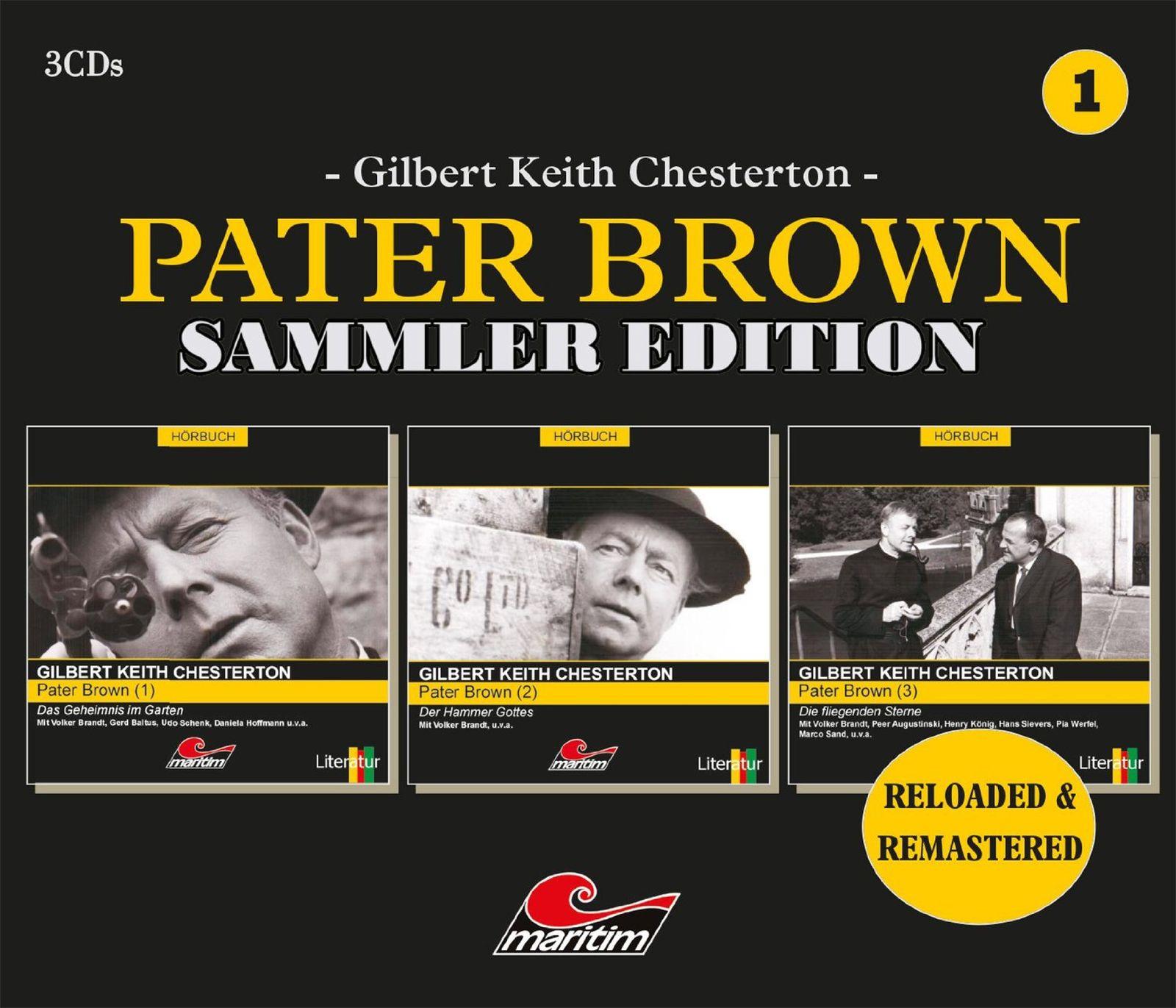 Pater Brown - Sammler Edition - Box 1 (Folge 1 bis 3)