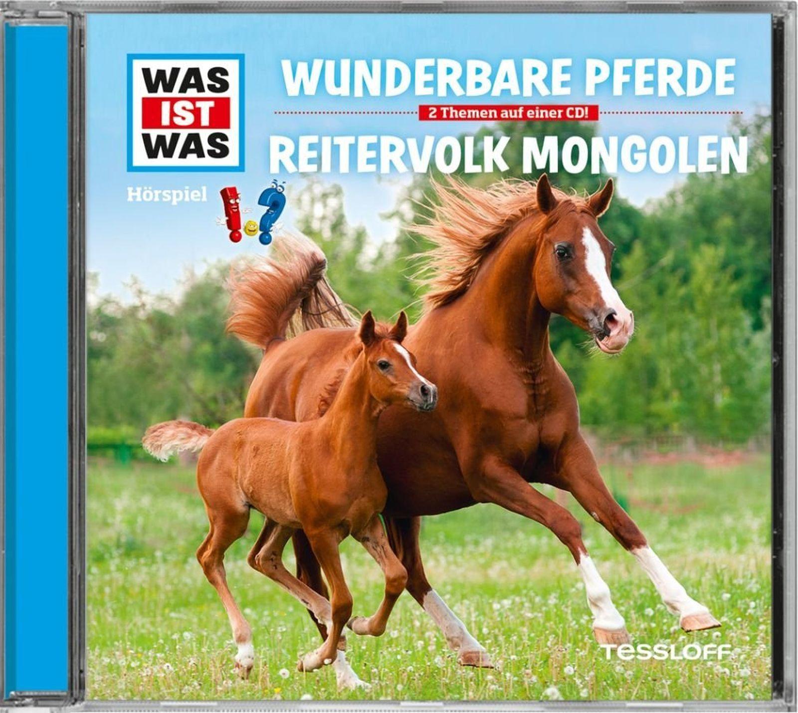 Was ist Was - Folge 56: Wunderbare Pferde / Reitervolk Mongolen
