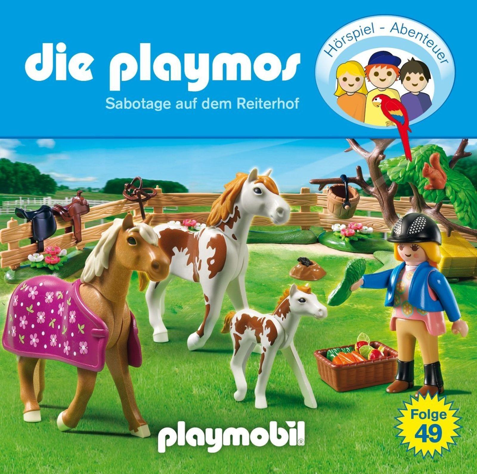 Die Playmos - Folge 49: Sabotage auf dem Reiterhof