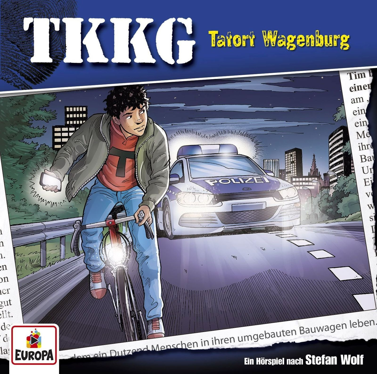 TKKG Folge 196 Tatort Wagenburg