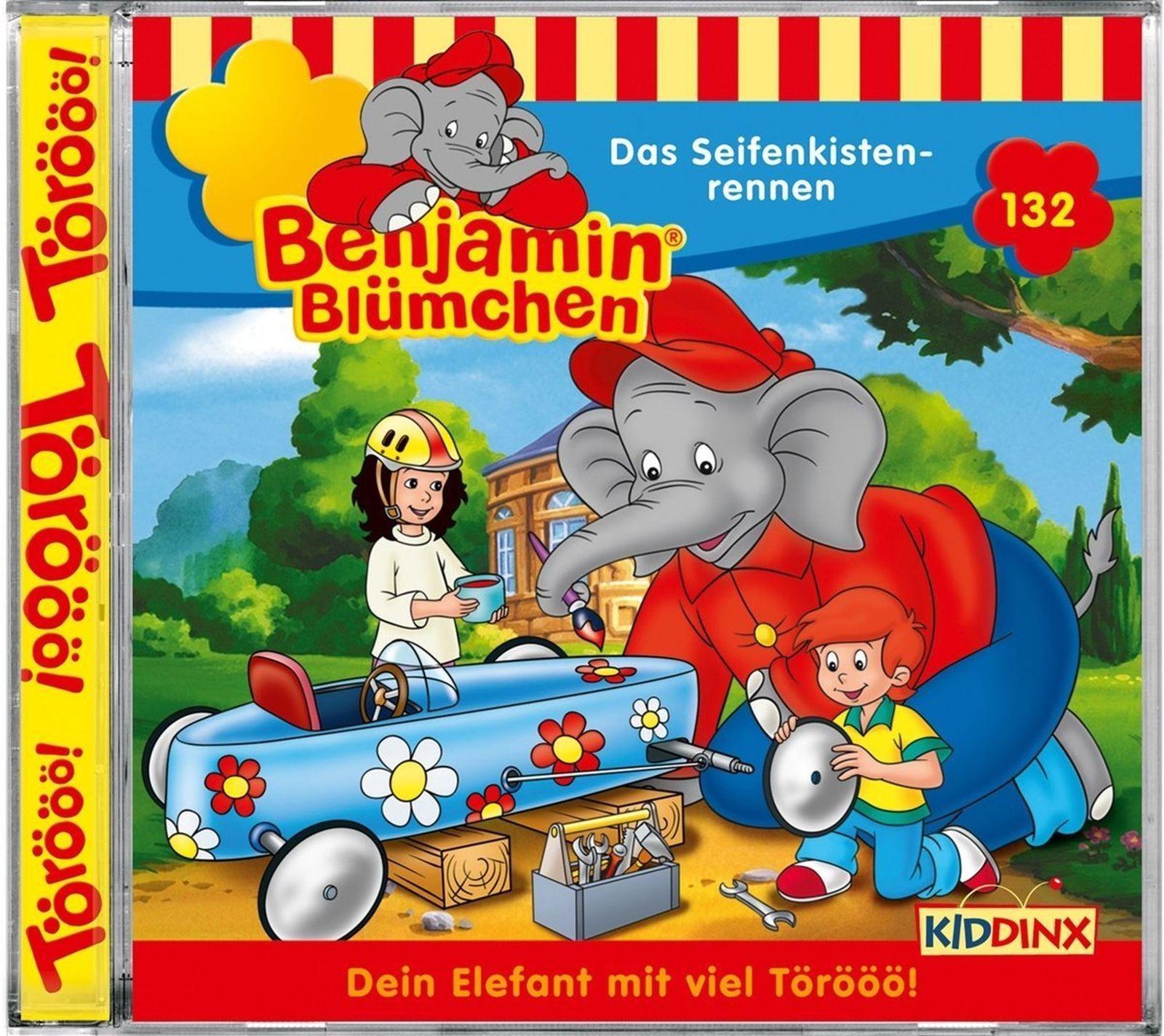 Benjamin Blümchen Folge 132 Das Seifenkistenrennen