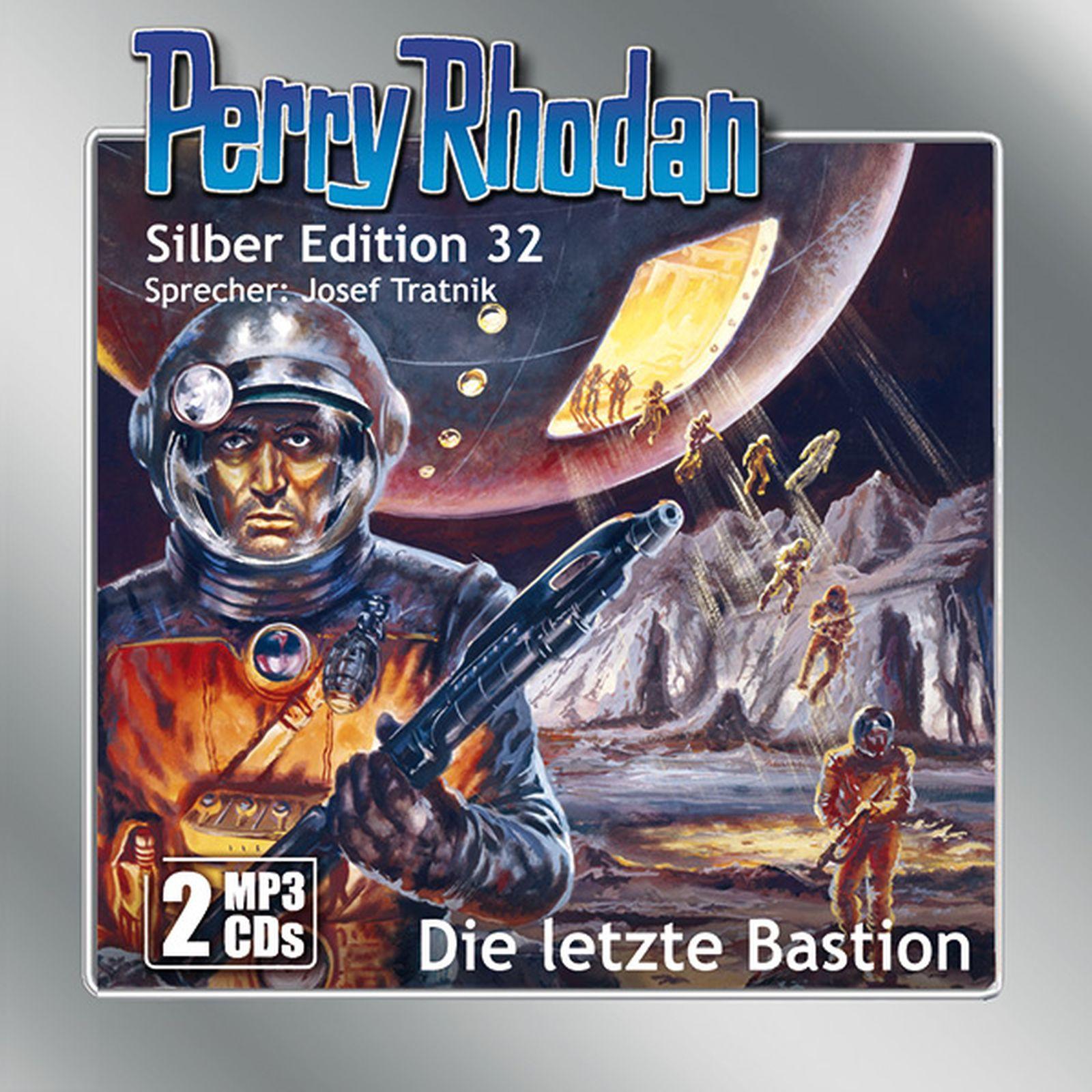 Perry Rhodan Silber Edition 32 Die letzte Bastion (2 MP3-CDs)