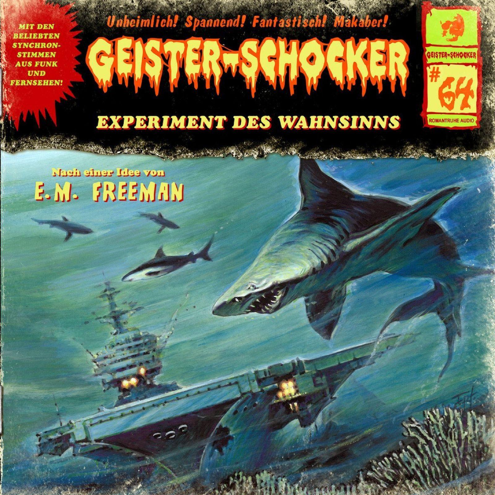 Geister-Schocker 64 Experiment des Wahnsinns