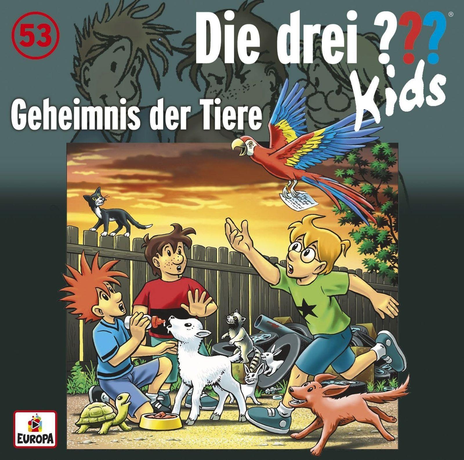 Die drei ??? Fragezeichen Kids - Folge 53: Geheimnis der Tiere