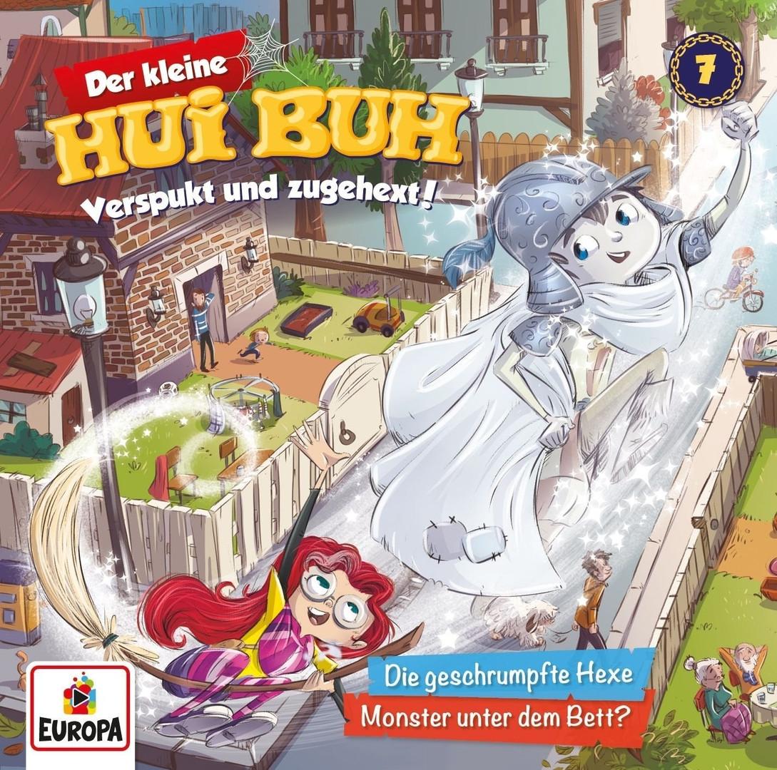 Der kleine HUI BUH - Folge 7: Die geschrumpfte Hexe / Monster unter dem Bett?
