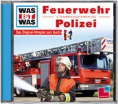 WAS IST WAS Hörspiel Feuerwehr / Polizei