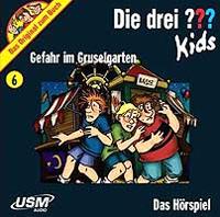 Die drei ??? Kids USM Folge 6: Gefahr im Gruselgarten