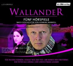 Henning Mankell - Wallander - 5 Hörspiele - 1. Staffel