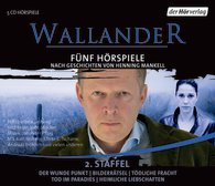Henning Mankell - Wallander - 5 Hörspiele - 2.Staffel