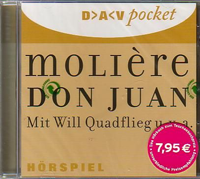 Moliére, Don Juan, gelesen von Will Quadflieg u.a.