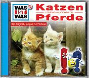 WAS IST WAS Hörspiel Katzen / Pferde