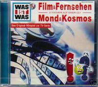 WAS IST WAS Hörspiel Film & Fernsehen / Mond & Kosmos