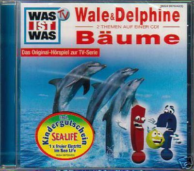 MC WAS IST WAS Hörspiel  Wale & Delphine / Bäume