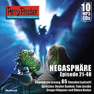Perry Rhodan Negasphäre Box 2 Episode 21-40