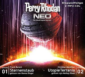 Perry Rhodan Neo MP3 Doppel-CD Folgen 01+02