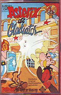 MC Telefunken Asterix als Gladiator