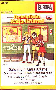 MC Europa 4290 Detektivin Katja Krümel