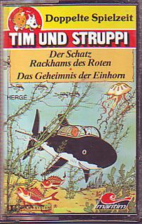 MC 2 LP Maritim Tim + Struppi Der Schatz Rackhams des Roten / Da