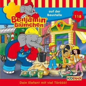 Benjamin Blümchen Folge 118 auf der Baustelle
