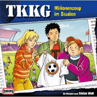 TKKG Folge 168 Millionencoup im Stadion