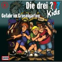 Die drei ??? Kids Folge 06: Gefahr im Gruselgarten