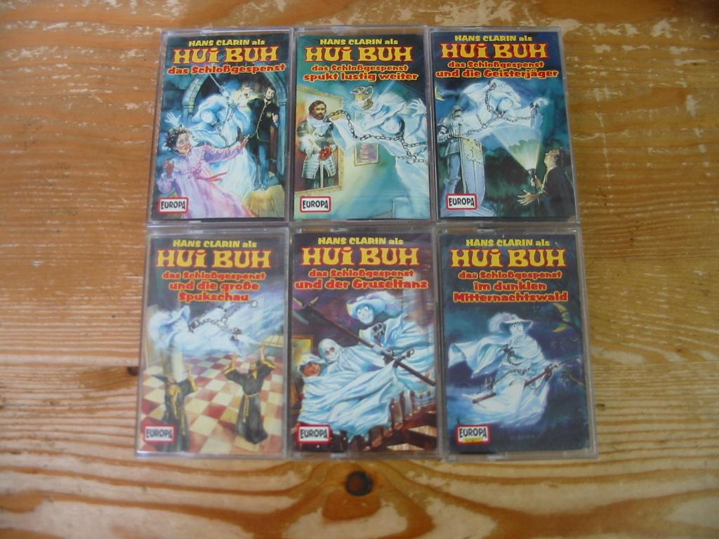 MC Europa Hui Buh 3. Auflage Folge 1 - 6 Komplett