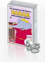 MC Europa Babar der kleine Elefant Folge 04 Das geheimnisvolle N