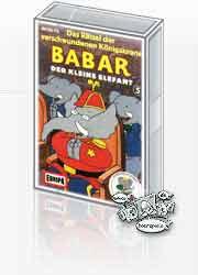 MC Europa Babar der kleine Elefant 05 verschwundene Königskrone