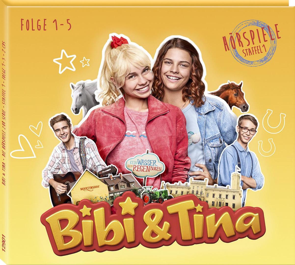 Bibi und Tina - Hörspiele zur Serie (Staffel 1 - Episoden 1 bis 5)