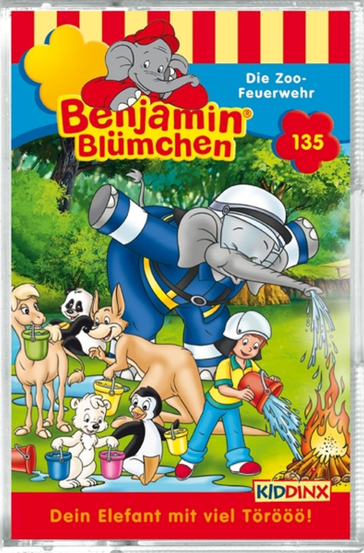 Benjamin Blümchen - Folge 135: Die Zoo-Feuerwehr (MC)