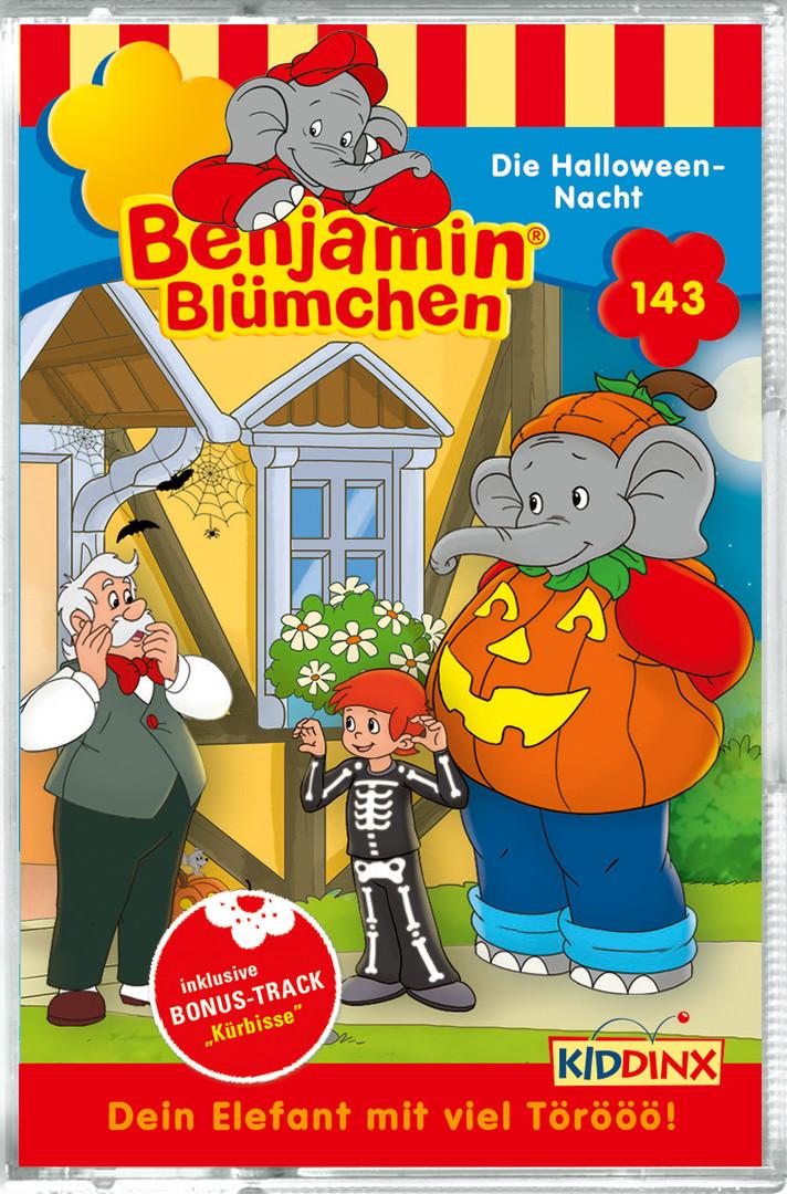 Benjamin Blümchen - Folge 143: Die Halloween-Nacht (MC)