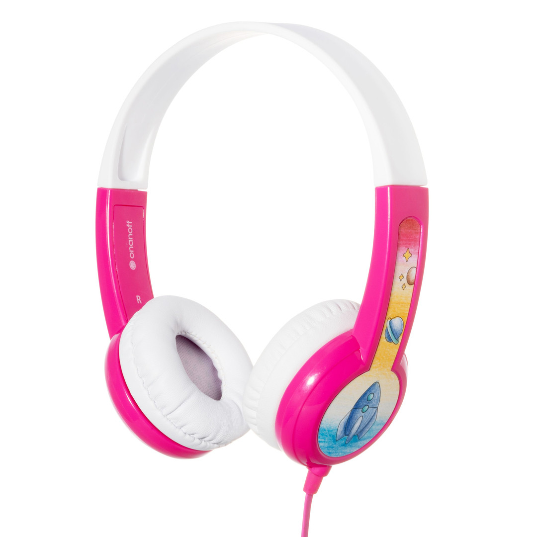 Buddyphones Kopfhörer Discover pink