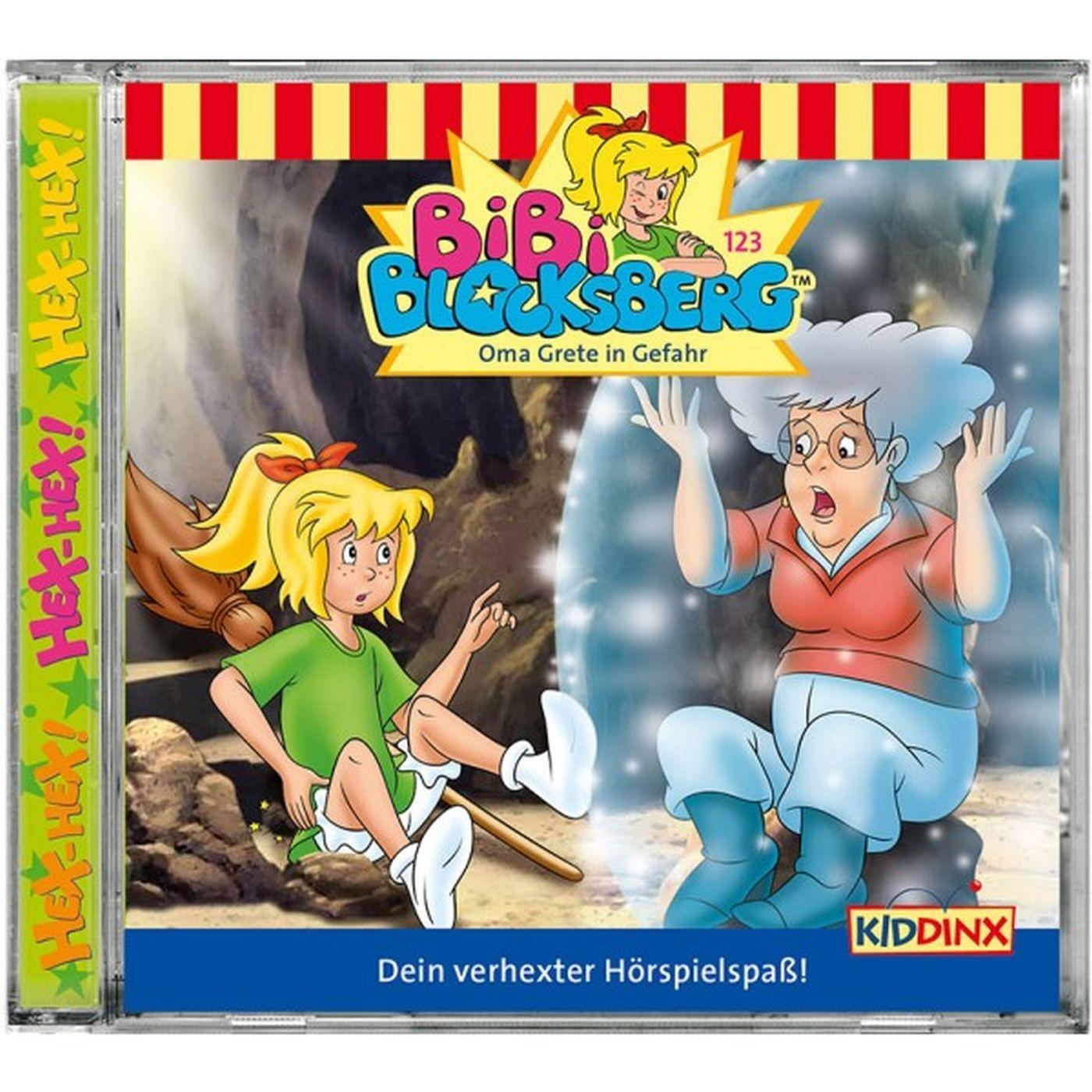 Bibi Blocksberg - Folge 123: Oma Grete in Gefahr (CD)